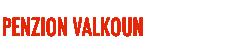 Penzion Valkoun